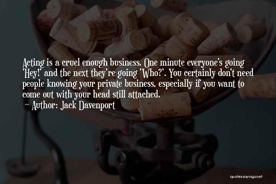 Jack Davenport Quotes 1160258