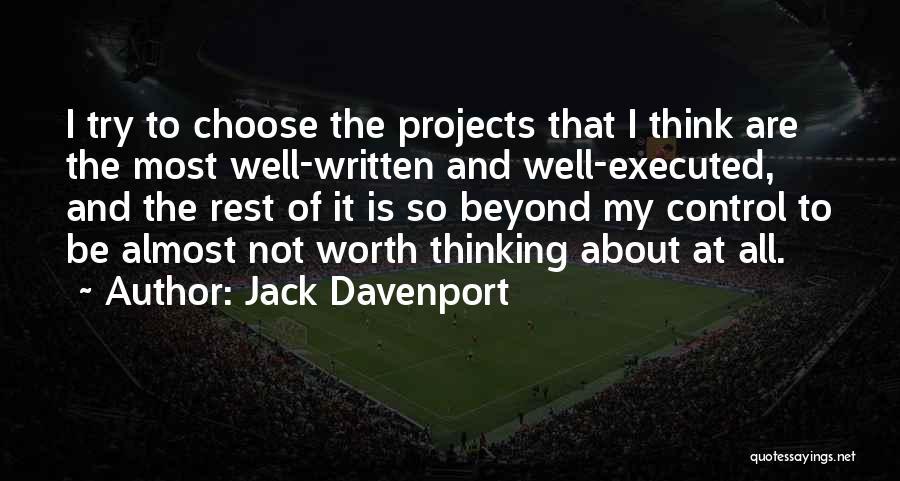 Jack Davenport Quotes 1369878