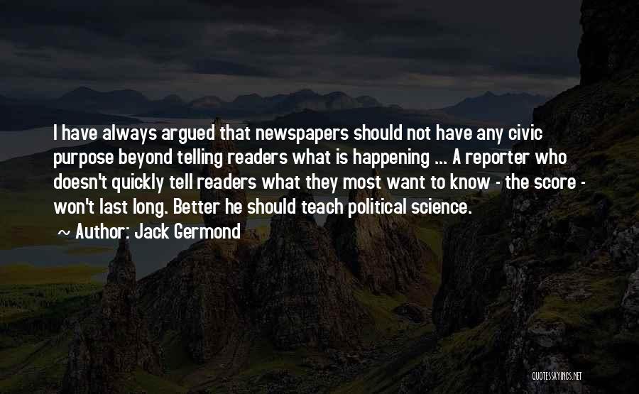 Jack Germond Quotes 984425