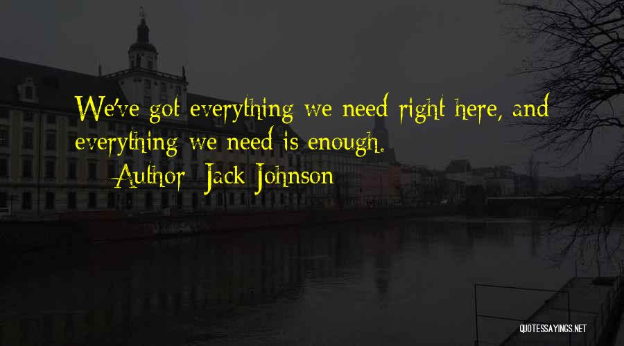 Jack Johnson Quotes 1148542