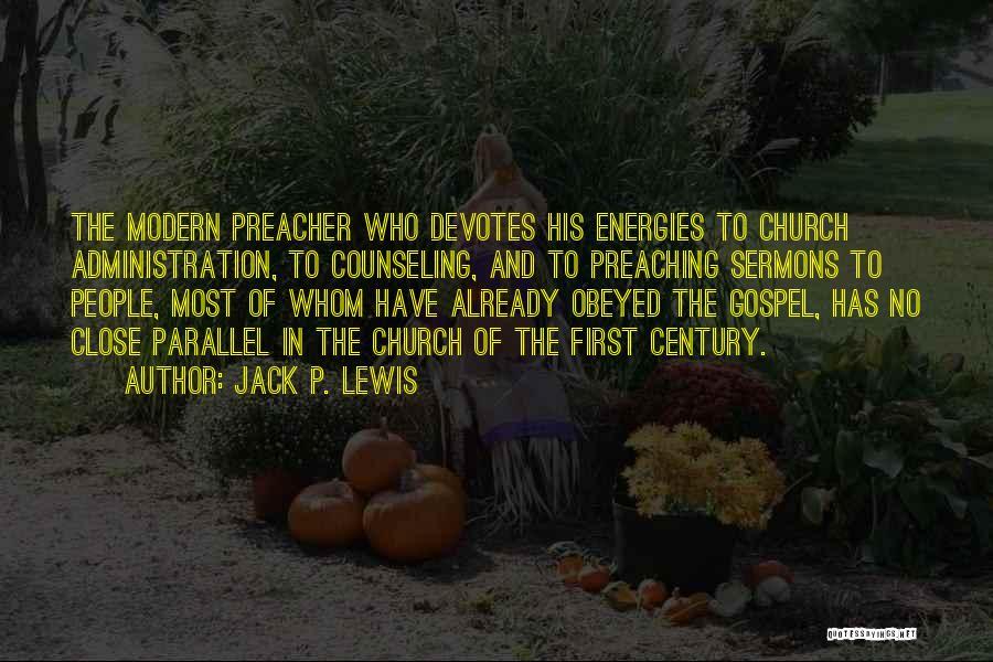Jack P. Lewis Quotes 431449