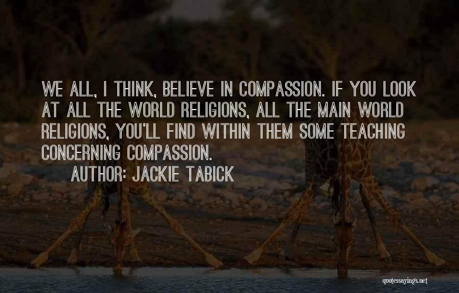 Jackie Tabick Quotes 2059811