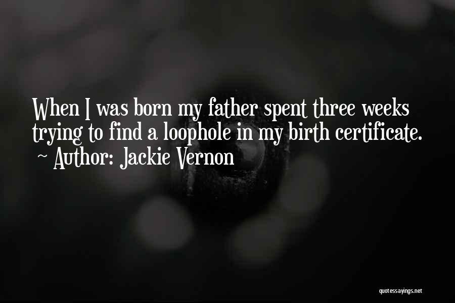 Jackie Vernon Quotes 725618