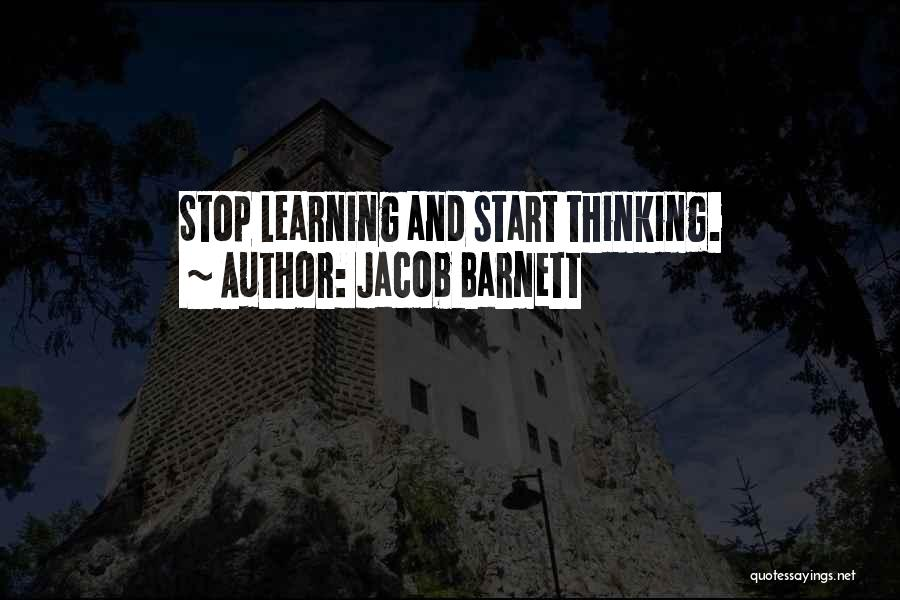 Jacob Barnett Quotes 747713