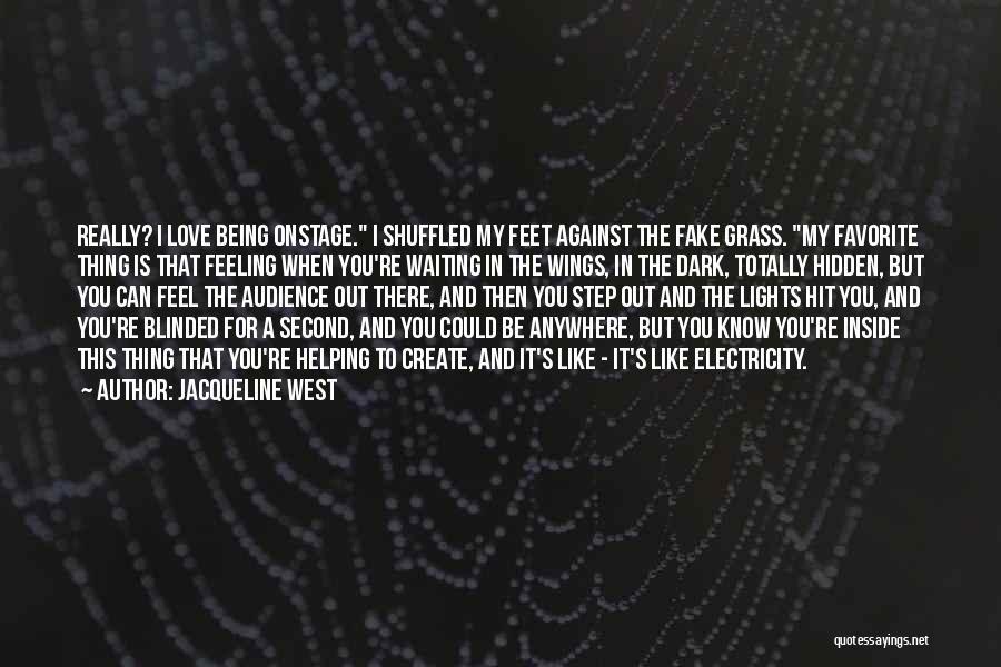 Jacqueline West Quotes 1864916