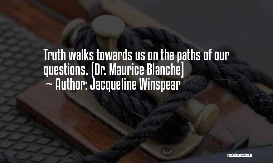 Jacqueline Winspear Quotes 1015844