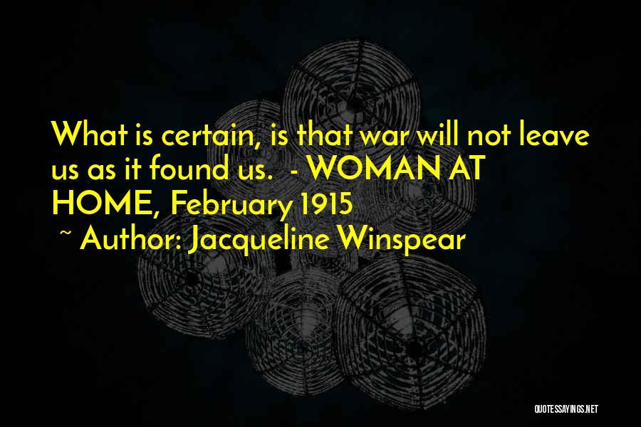 Jacqueline Winspear Quotes 1078877