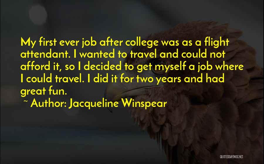 Jacqueline Winspear Quotes 159381