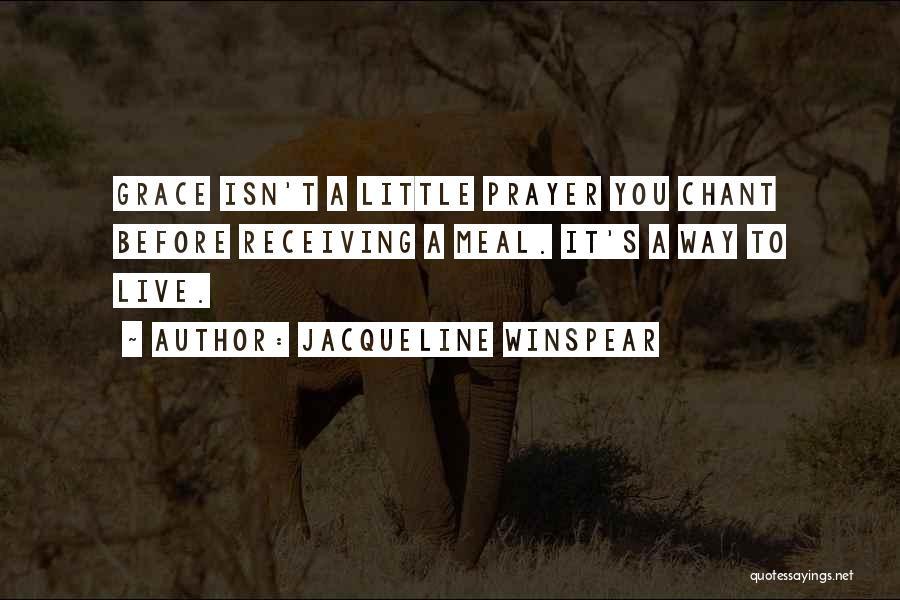 Jacqueline Winspear Quotes 1758298