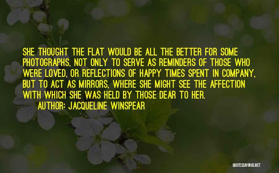 Jacqueline Winspear Quotes 1863897
