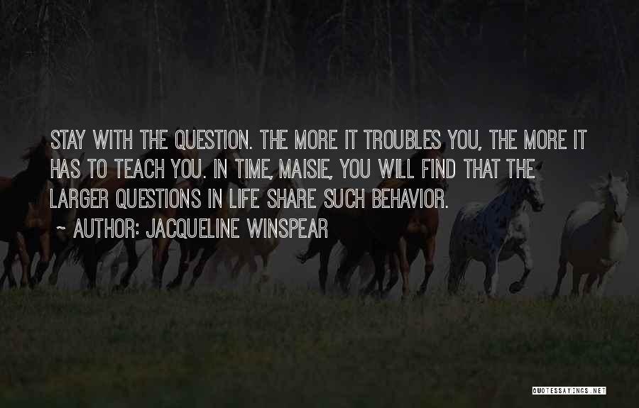 Jacqueline Winspear Quotes 1917480