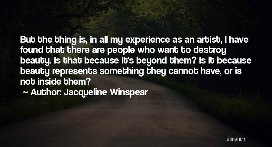 Jacqueline Winspear Quotes 1939084