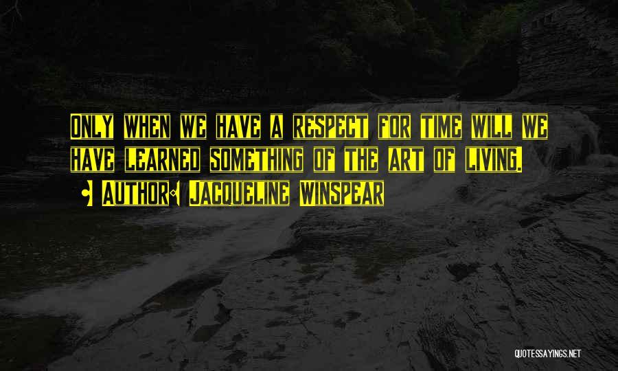 Jacqueline Winspear Quotes 1945337