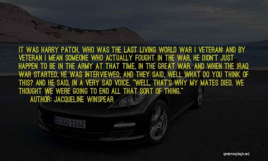 Jacqueline Winspear Quotes 1954523