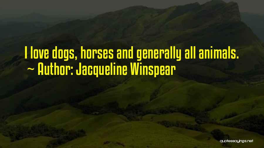 Jacqueline Winspear Quotes 2002109