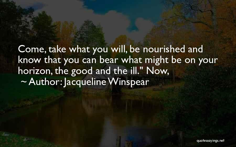 Jacqueline Winspear Quotes 2016576
