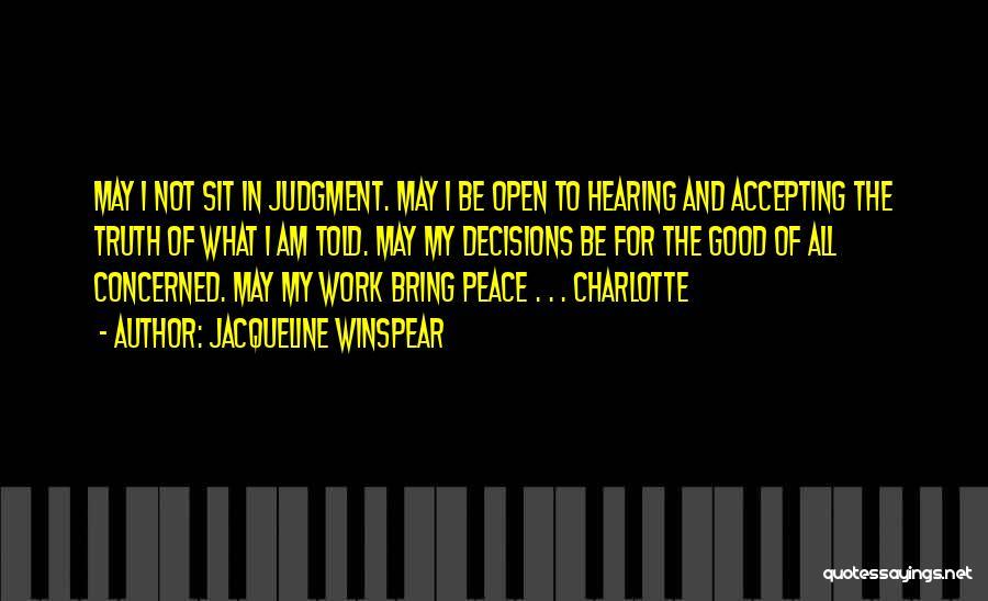 Jacqueline Winspear Quotes 2036179