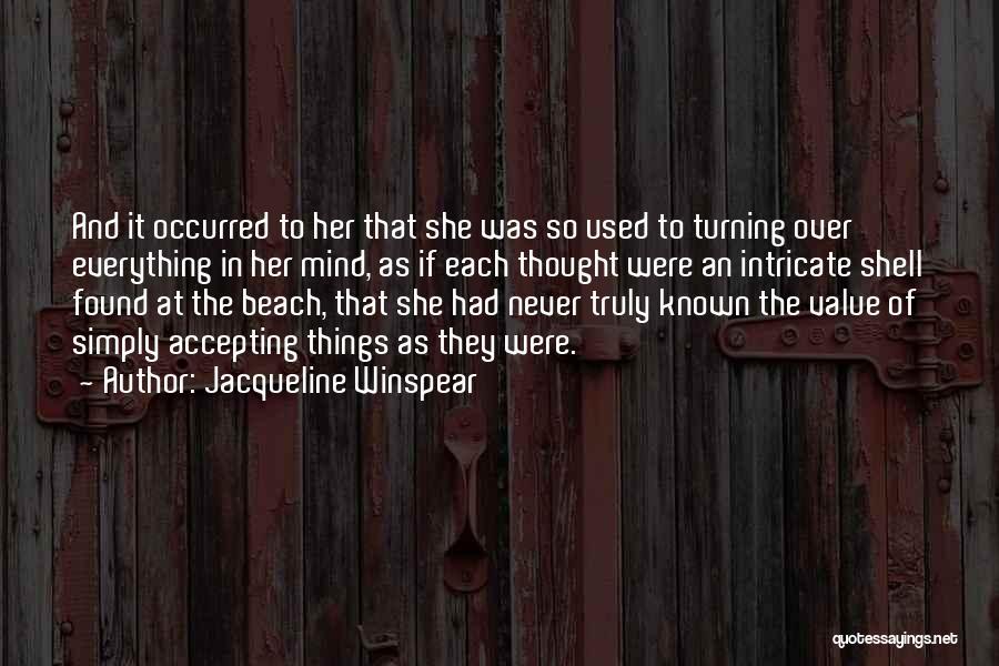 Jacqueline Winspear Quotes 2175812