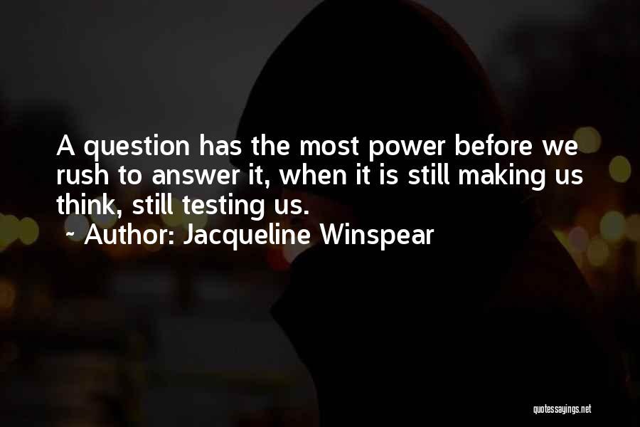 Jacqueline Winspear Quotes 265948