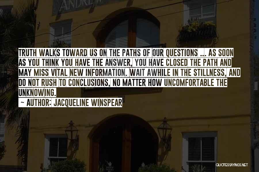 Jacqueline Winspear Quotes 415384