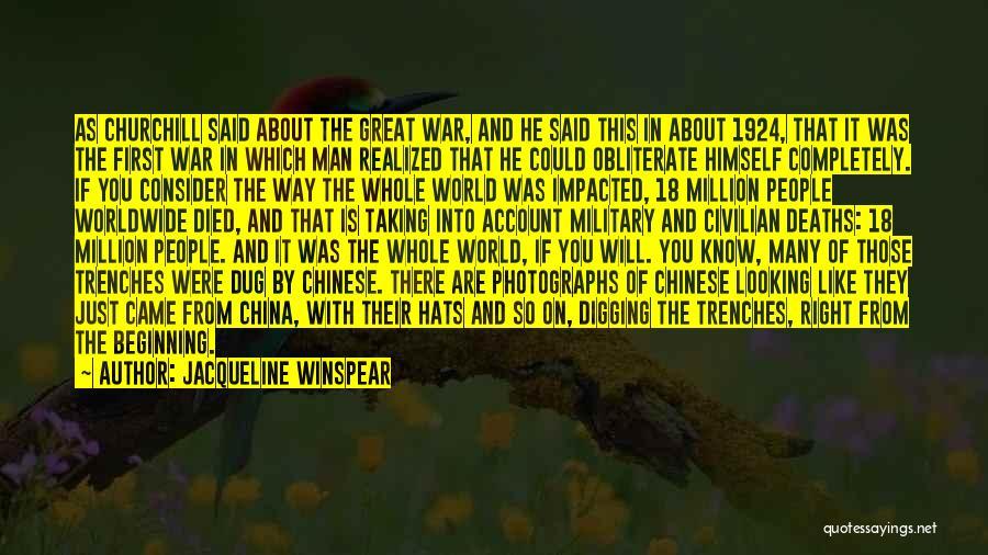 Jacqueline Winspear Quotes 441527