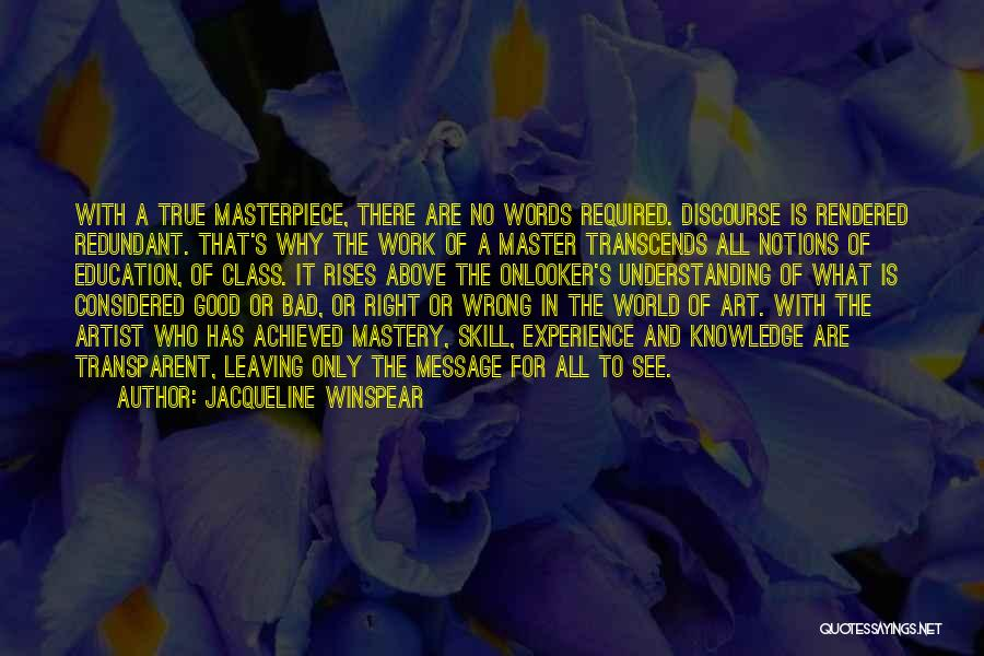 Jacqueline Winspear Quotes 448943