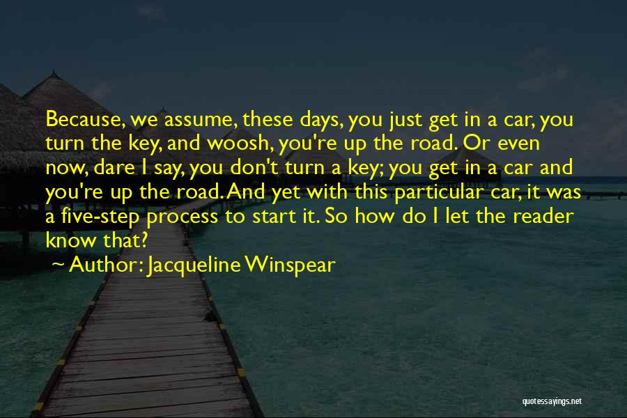 Jacqueline Winspear Quotes 451731
