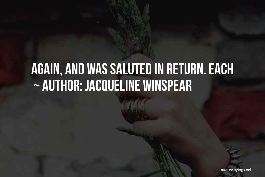 Jacqueline Winspear Quotes 461450