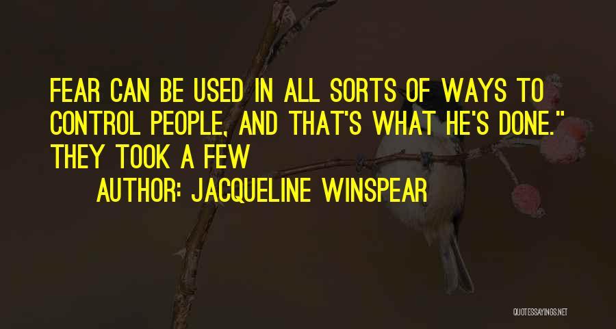 Jacqueline Winspear Quotes 565823