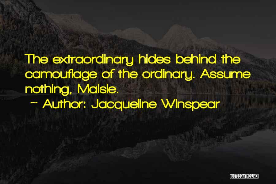 Jacqueline Winspear Quotes 582367