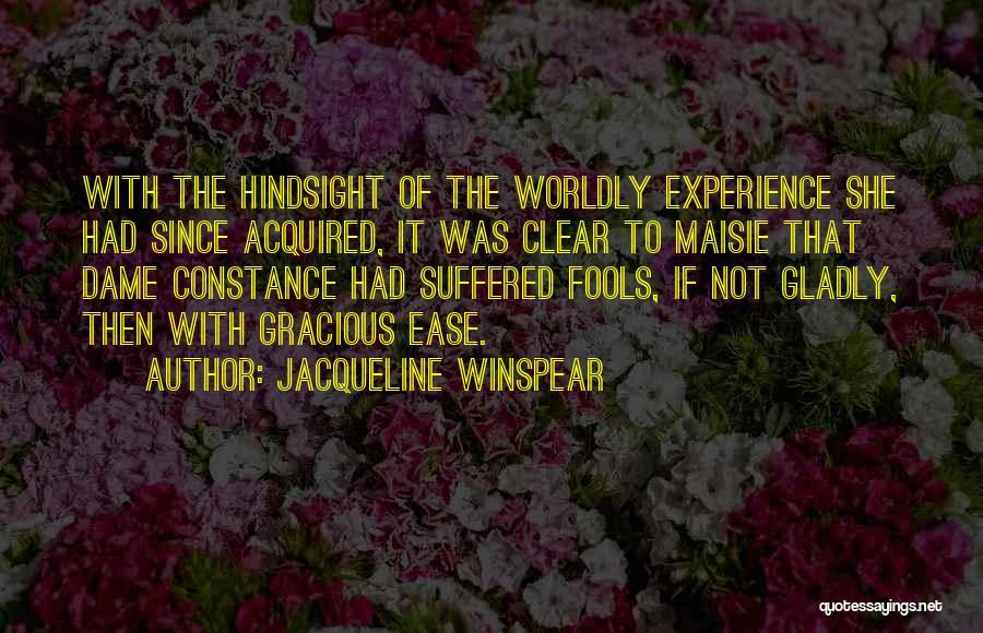 Jacqueline Winspear Quotes 622675