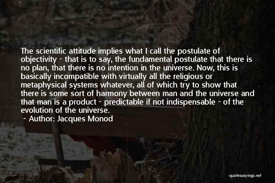 Jacques Monod Quotes 1974057