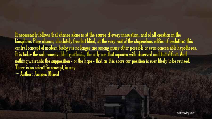 Jacques Monod Quotes 1999788