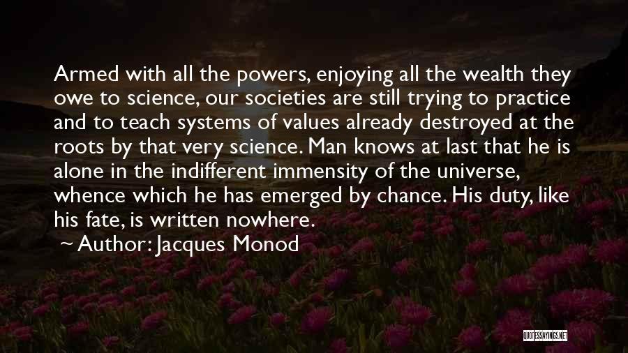 Jacques Monod Quotes 2204273