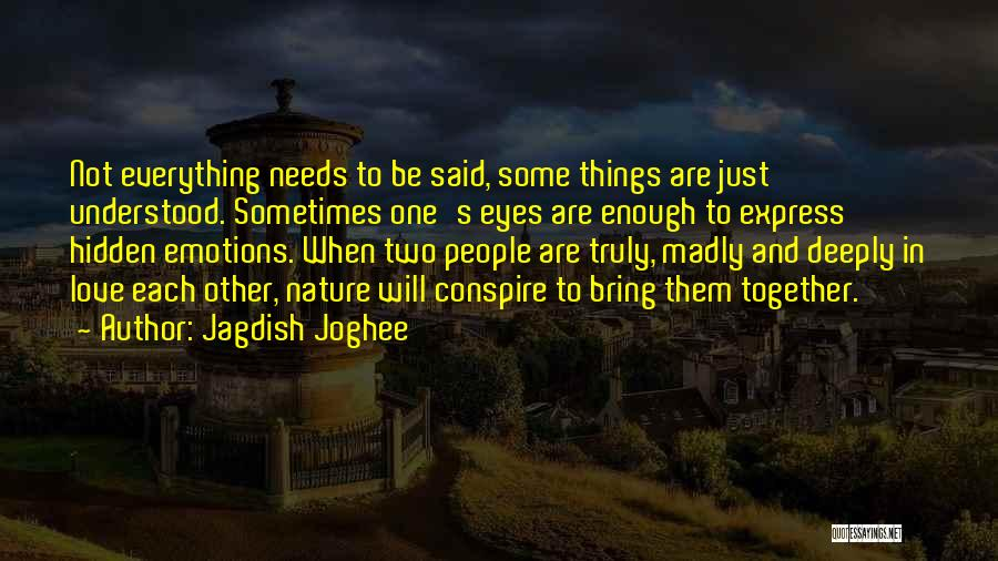 Jagdish Joghee Quotes 148508