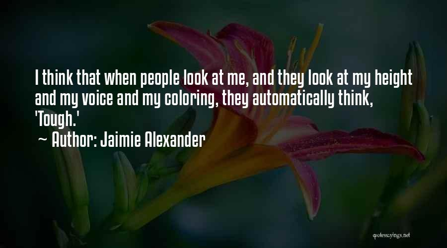 Jaimie Alexander Quotes 1177967