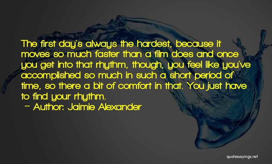 Jaimie Alexander Quotes 2057632