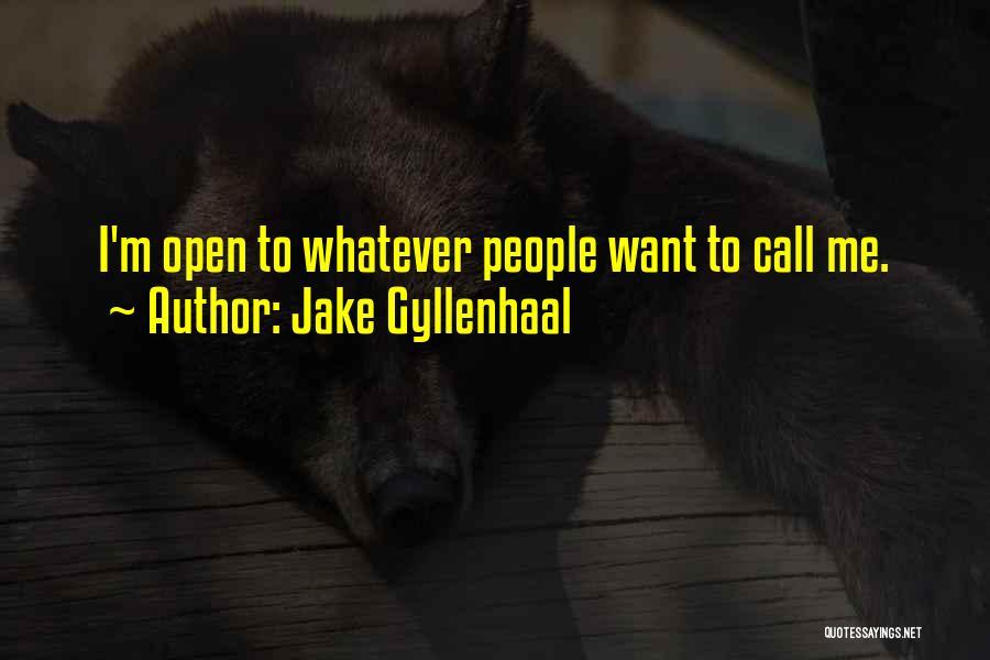 Jake Gyllenhaal Quotes 1069444