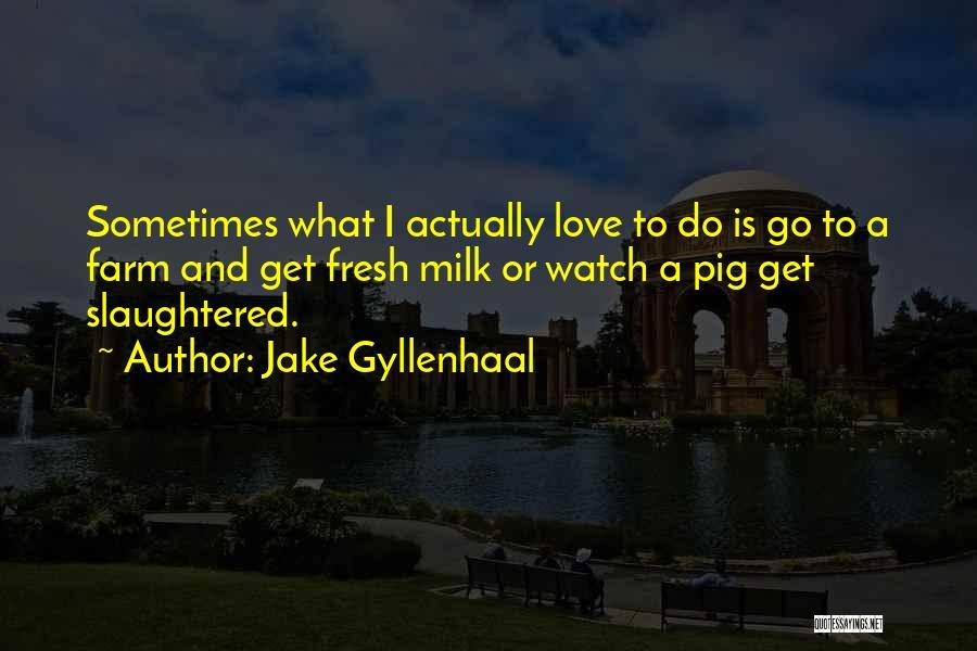 Jake Gyllenhaal Quotes 1304920
