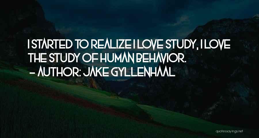 Jake Gyllenhaal Quotes 1313461