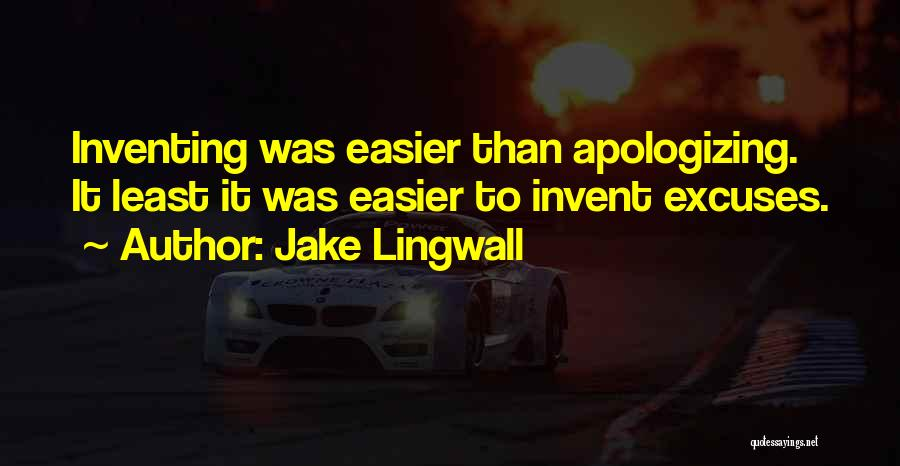 Jake Lingwall Quotes 1661577