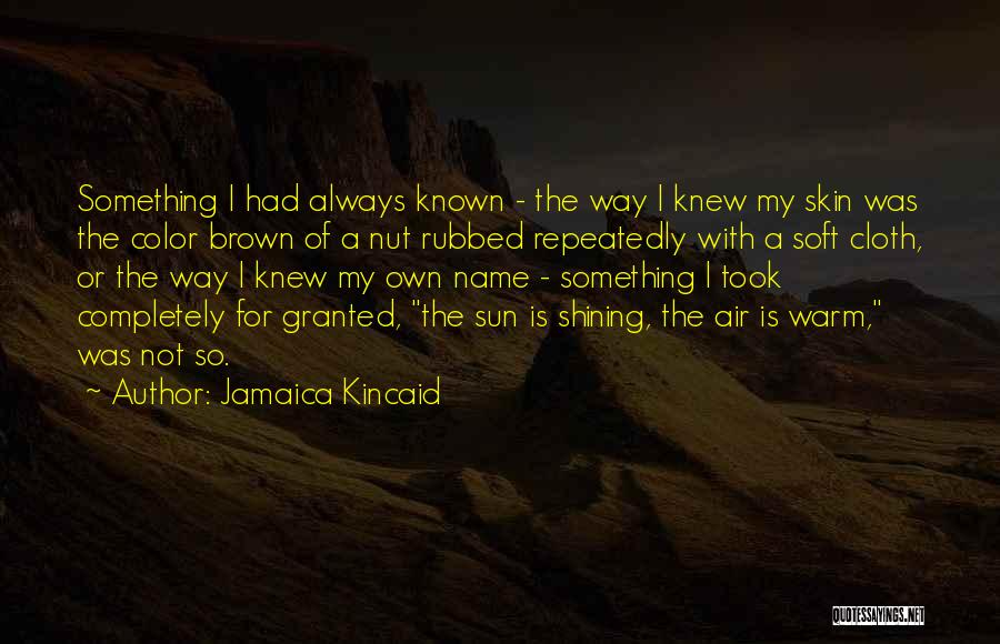Jamaica Kincaid Quotes 1944273