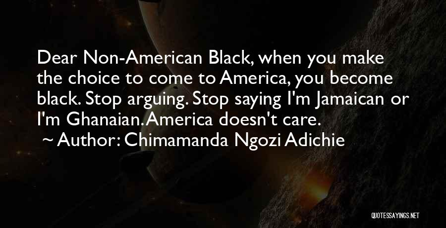 Jamaican Quotes By Chimamanda Ngozi Adichie