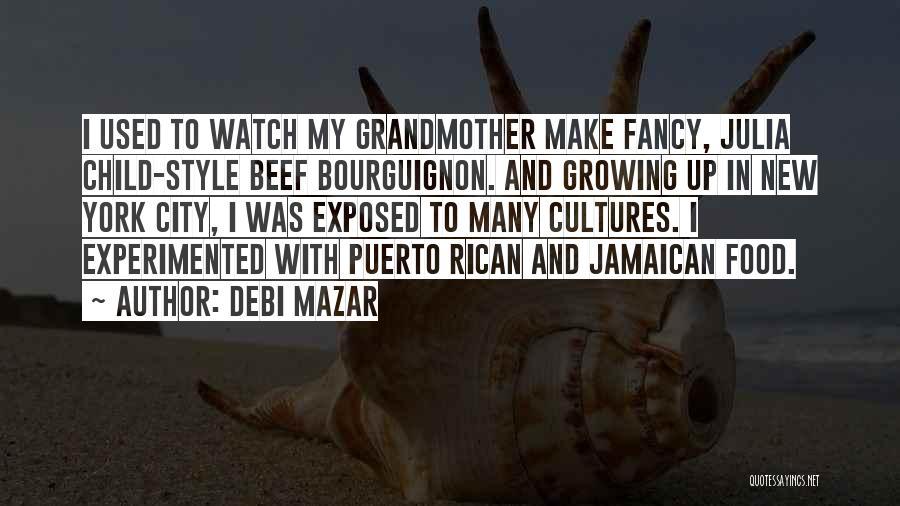 Jamaican Quotes By Debi Mazar