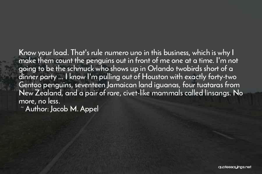 Jamaican Quotes By Jacob M. Appel