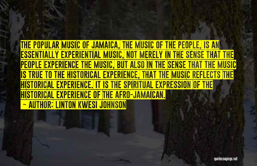 Jamaican Quotes By Linton Kwesi Johnson