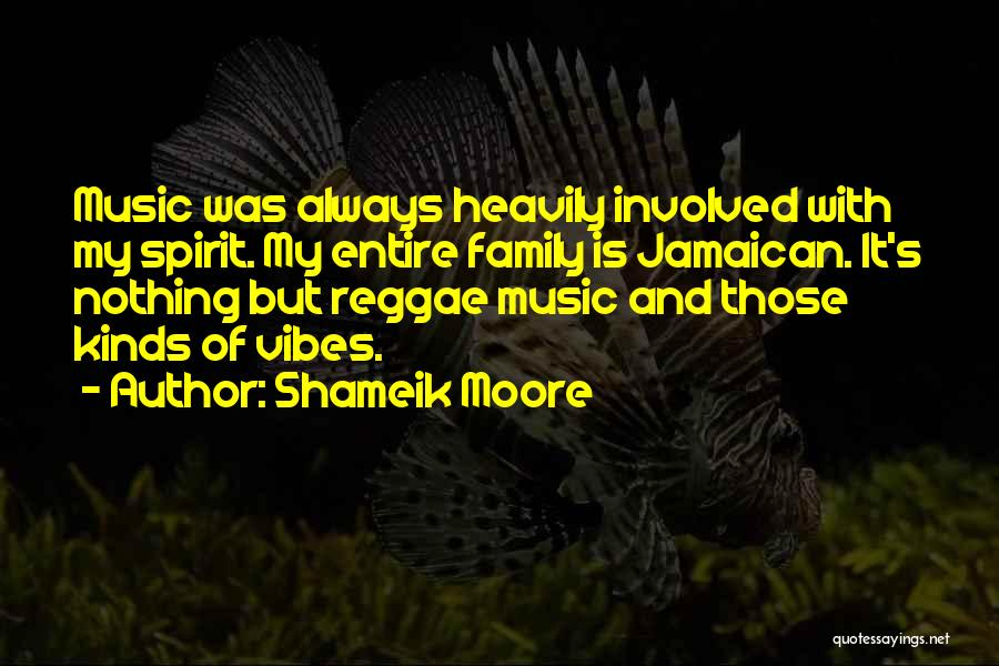 Jamaican Quotes By Shameik Moore