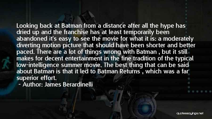 James Berardinelli Quotes 1464991