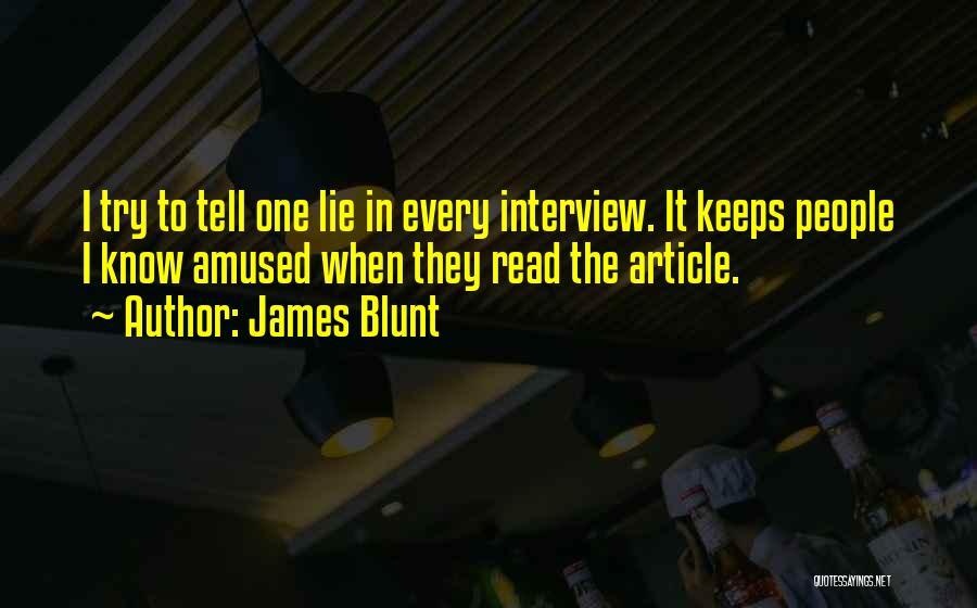 James Blunt Quotes 1283515