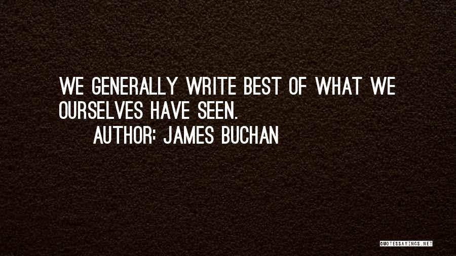 James Buchan Quotes 546360